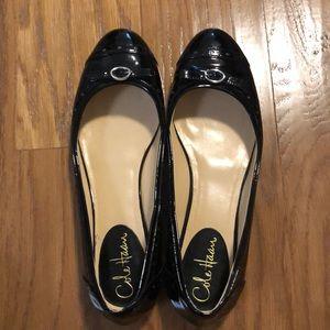 Black Cole Haan ballet- style shoes. Size 8.5 B